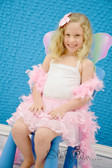 Light Pink 2 Tier Ribbon Lined Dance Tutu