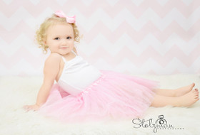 Wholesale Tutu Cheap Light Pink Glitter Dance Tutus For