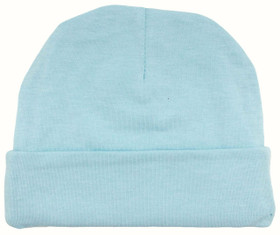 Light Blue Cotton Beanies
