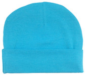 Turquoise Cotton Beanies