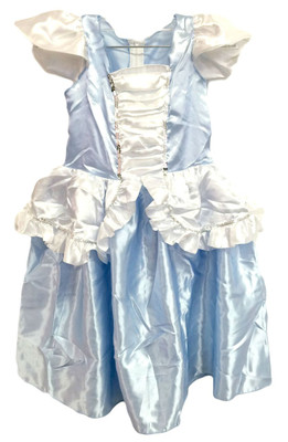 Light Blue Princess Costume Dress 2-4T