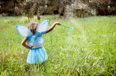 Light Blue Pixie Wings for costumes