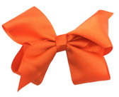 Orange Halloween Girl Boutique Bows