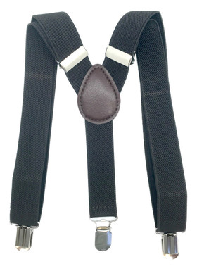 Chocolate Brown Adjustable Suspenders For Infant, Newborn and Toddler Boys