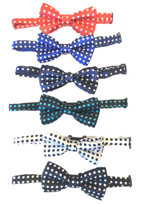 Assorted Polka Dot Boy's Bow Ties