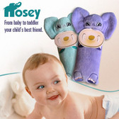 Nosey Plush Toy With Pacifier Holder