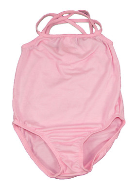 Light Pink Leotards with Straps