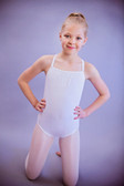 White Leotards with Straps