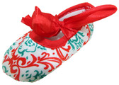 Christmas Holiday Crib Shoes