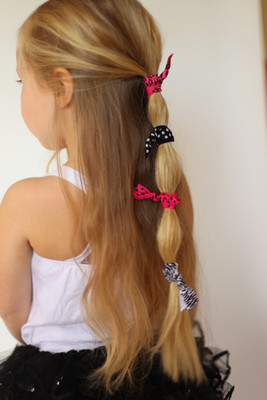 Fold Over Elastic Hair Ties