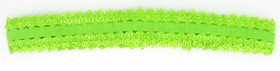 Lime Green Lace Headbands