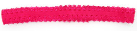 Hot Pink Lace Headbands