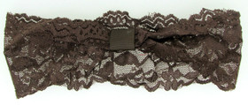 Brown Wide Lace Headbands