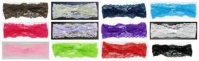 Assorted Wide Lace Headbands