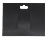 Black Plastic Bow Cards
