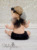 Baby Butterfly Wings Black