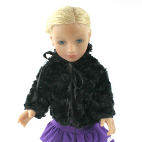 Black Doll Coat