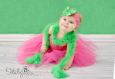 Green Marabou Feather Boa