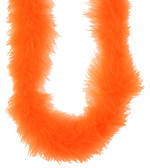 Orange Marabou Feather Boa