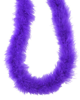 Purple Marabou Feather Boa