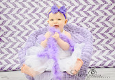 Lavender Marabou Feather Boa
