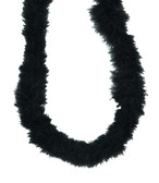 Black Marabou Feather Boa
