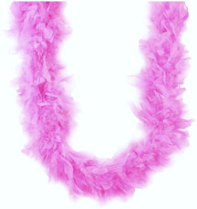 Light Pink Chandelle Feather Boa