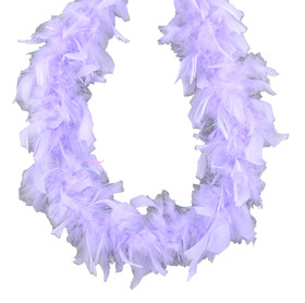 Lavender Chandelle Feather Boa