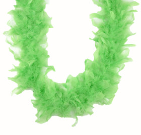 Green Chandelle Feather Boa