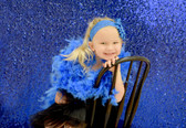 Chandelle Feather Boa Royal Blue