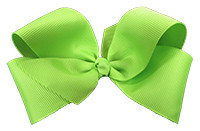 Lime Green Girl Boutique Bows