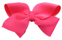 Hot Pink Girl Boutique Bows