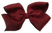 Burgundy Girl Boutique Bows
