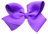 Purple Girl Boutique Bows