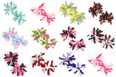 Assorted Curly Mini Korker Bows