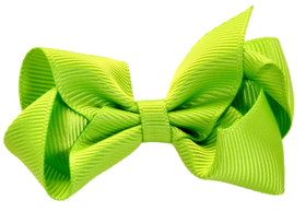 Lime Green Baby Boutique Bows