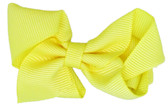 24 Yellow Baby Boutique Bows