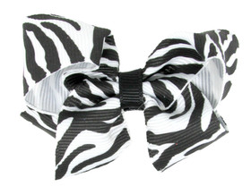 Zebra Baby Boutique Bows