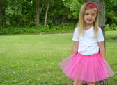 Dark Pink Basic Ballet Tutu Dance Skirts Wholesale