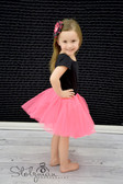 Neon Hot Pink Basic Ballet Tutu Girls Dance Skirts Cheap
