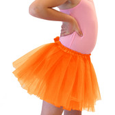 Orange Ballet Tutu Dance Skirts Inexpensive