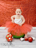 Red Ballet Tutu For Girls Dance Class Wholesale