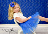 Royal Blue Ballet Tutu For Girls Dance Cheap