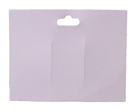 Pink Plastic Bow Cards
