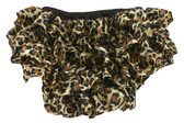 Leopard Satin Diaper Cover