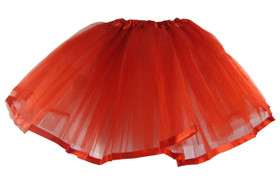 Red Ribbon Lined Dance Tutu