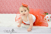 Ribbon Lined Dance Tutu Red