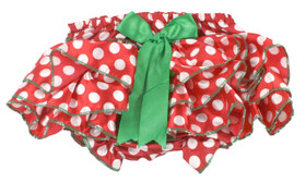 Christmas Satin Diaper Cover