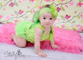 Diaper Cover Lime Green