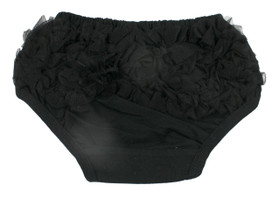 Black Diaper Cover